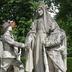 Monument à l'amitié Franco-Américaine ou La France reconnaissante de l'amitié et de l'aide américaine.